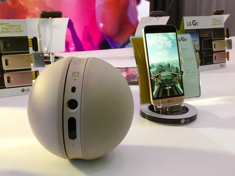 LG робо-камера