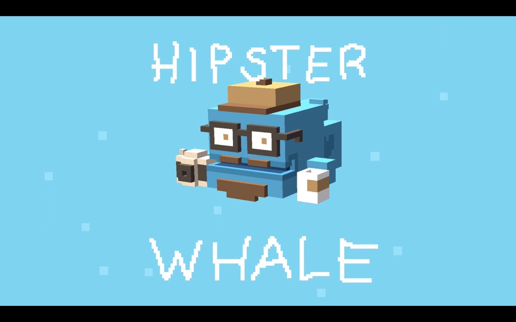 Лого разработчика Hipster Whale. Ох, зря они хипстерами назвались.