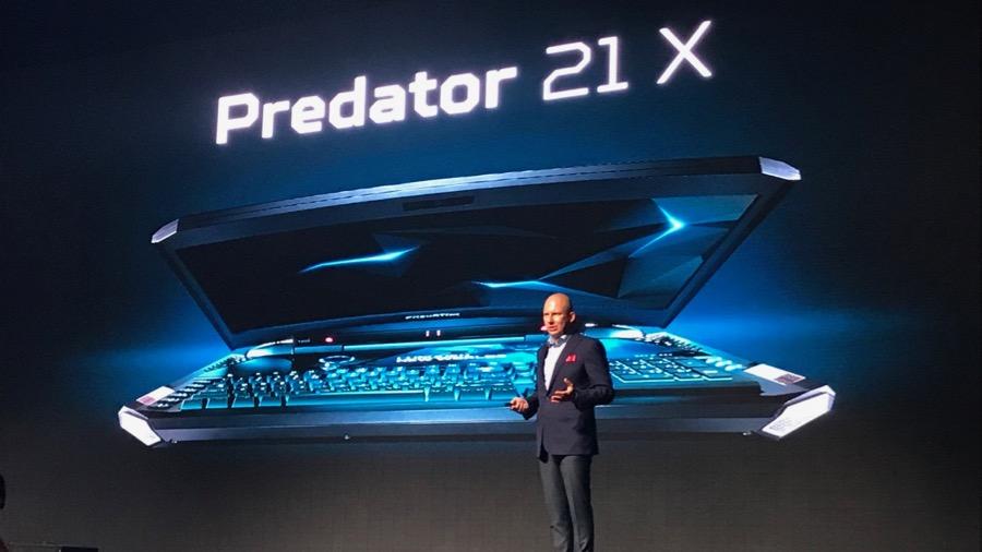 Самый дорогой игровой ноутбук: Acer Predator 21 X