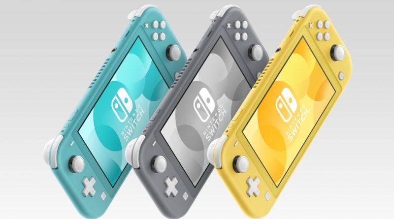 Кое-что ещё про Nintendo Switch Lite
