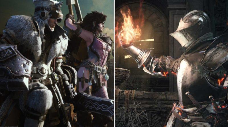 Чем Monster Hunter лучше Dark Souls